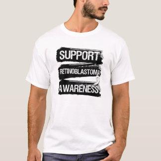 Support Retinoblastoma Awareness Grunge T-Shirt