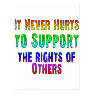 Support Rights of Others Post Card