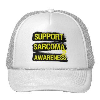 Support Sarcoma Awareness Grunge Trucker Hat
