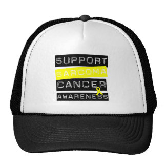 Support Sarcoma Cancer Awareness Mesh Hat