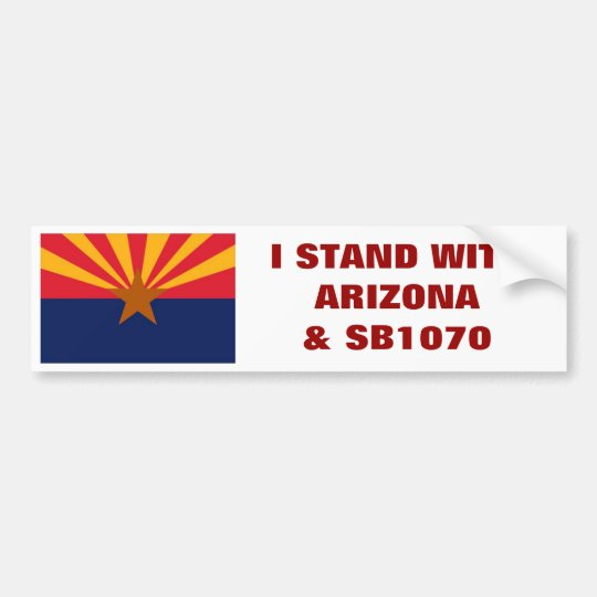 Support SB1070, Support Arizona Bumper Sticker