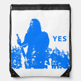 Support Scotland Drawstring Backpack