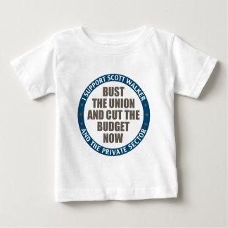 Support Scott Walker Baby T-Shirt