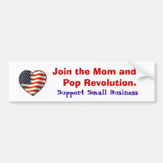 Support Small Business Bumper Sticker