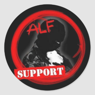 Support the ALF! Classic Round Sticker
