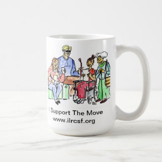 Support The Move, and have a hot drink Coffee Mugs