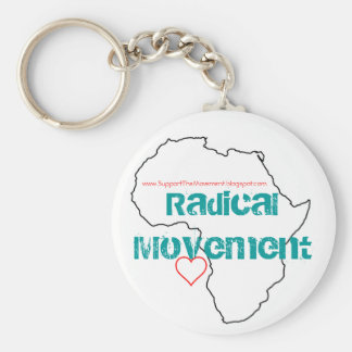 Support The Movement Keychain