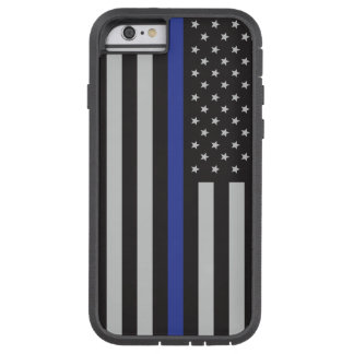 Support the Police Thin Blue Line American Tough Xtreme iPhone 6 Case