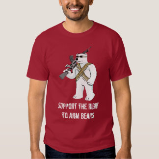 Support the Right to Arm Bears Tshirt