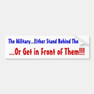Support The Troops! Bumper Sticker