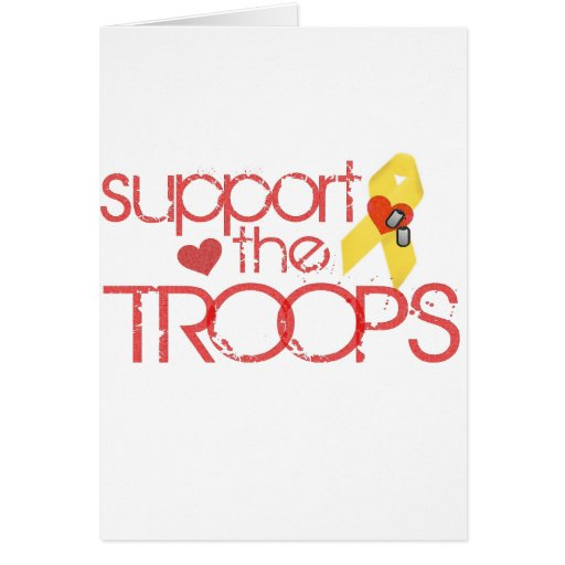 Support the Troops Card