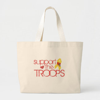 Support the Troops Jumbo Tote Bag