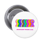 Support them all 6 cm round badge
