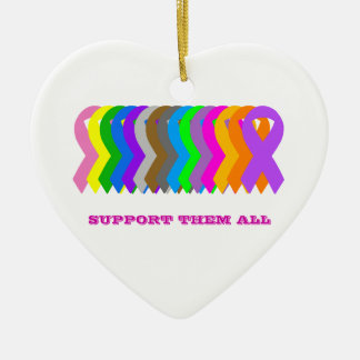 Support them All Christmas Ornament