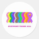 Support them all round sticker
