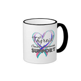 Support Thyroid Cancer Awareness Mugs
