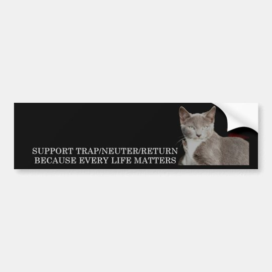 Support TNR Bumper Sticker