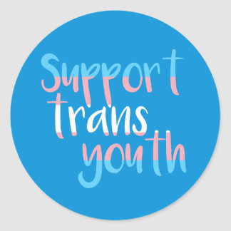 Support Trans Youth Stickers