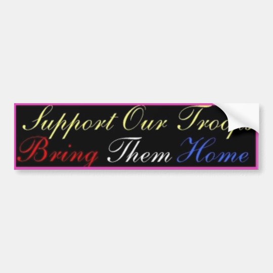 support_troops1 bumper sticker