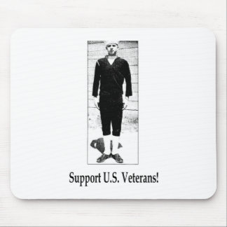 Support U.S. Veterans Mouse Pads