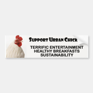 Support Urban Chickens Bumper Stickers