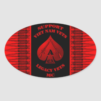 Support Viet Nam / Legacy Vets MC Sticker