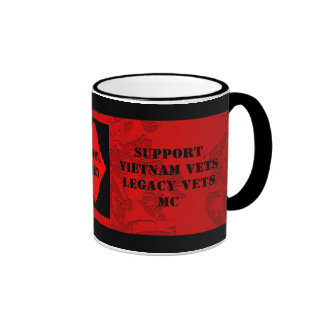 Support Vietnam Legacy Vets MC Cup Coffee Mug