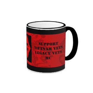 Support Vietnam / Legacy Vets MC Cup Ringer Mug
