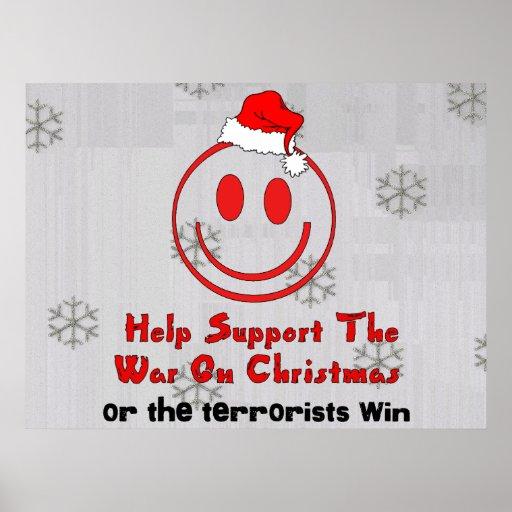 Support War On Christmas Print