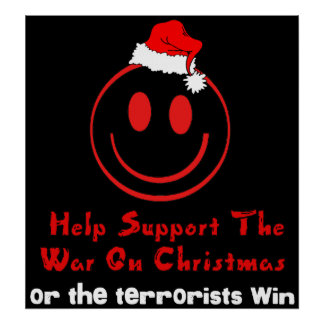 Support War on Christmas Posters