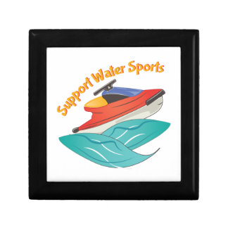 Support Water Sports Small Square Gift Box