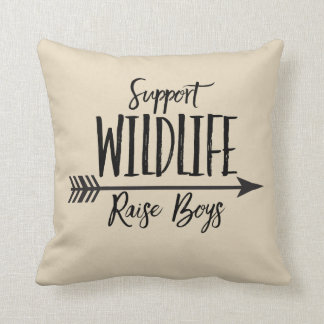 Support Wildlife Pillow