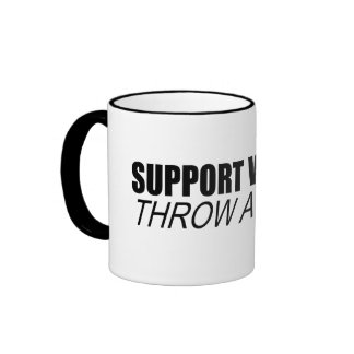Support Wildlife. Throw a party. Ringer Mug
