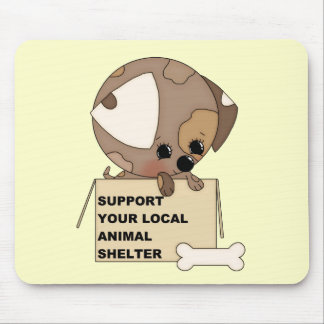 Support Your Animal Shelter Mouse Pad
