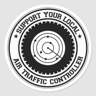 Support Your Local Air Traffic Controller Sticker