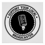 Support Your Local Broadcaster Poster