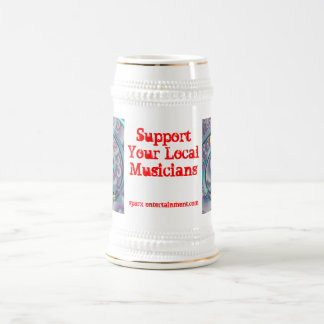 Support Your Local Musicians Beer Stein