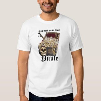 Support your local Pirate Tee Shirts