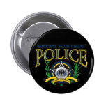 Support Your Local Police Pinback Buttons
