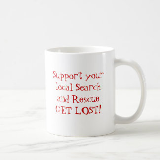 Support your local Search and Rescue Coffee Mug