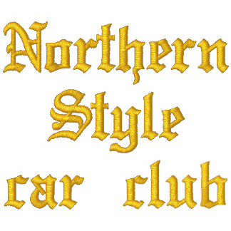 Support your loco lowrider Northern Style Car Club Embroidered Hoodies