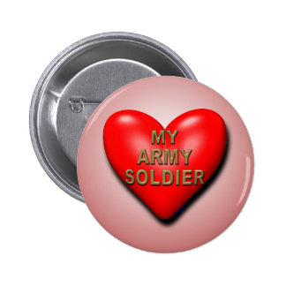 Support Your Soldier 6 Cm Round Badge