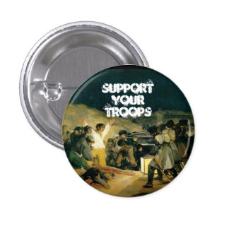 Support Your Troops 3 Cm Round Badge