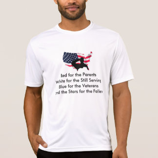 Support your troops with this one of a kind print tshirts