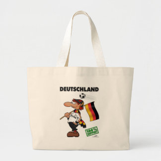 Supporter Deutschland White Edition Jumbo Tote Bag