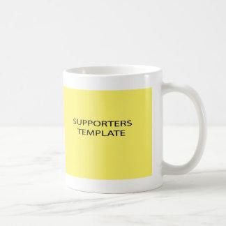 supporters coffee mug