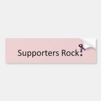 Supporters Rock Bumper Sticker