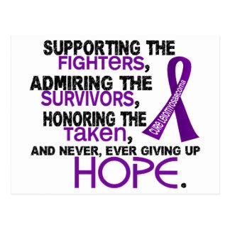 Supporting Admiring Honoring 3.2 Leiomyosarcoma Postcard