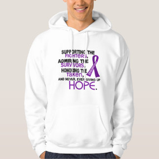 Supporting Admiring Honoring 3.2 Pancreatic Cancer Hoodie