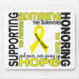 Supporting Admiring Honoring 9 Bladder Cancer Mouse Pad